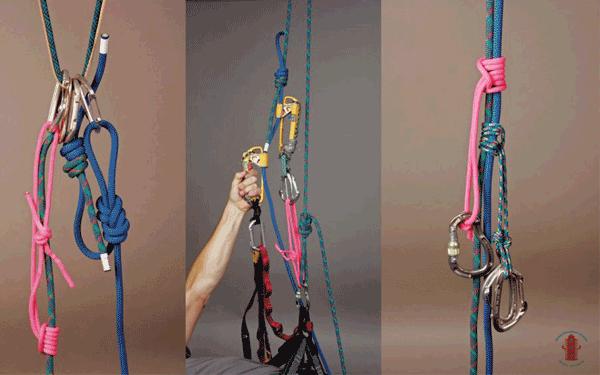 نقش طناب در راپل کاری